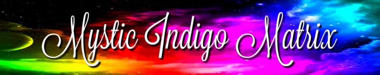 Mystic Indigo Matrix Banner
