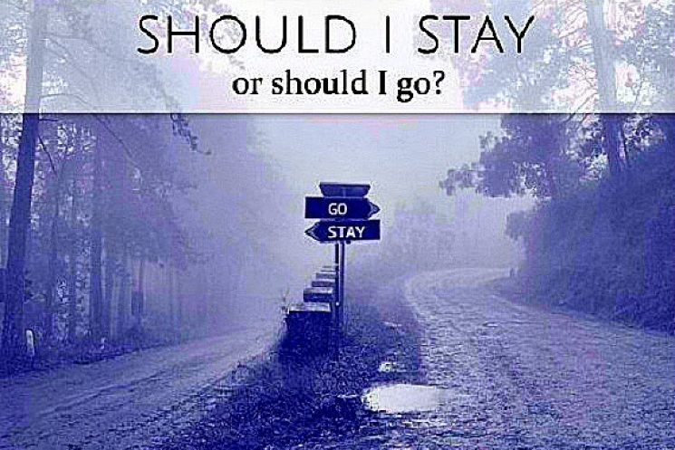 Stay or Go Psychic Reading